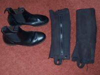 Jodpur boots and chaps