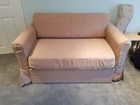Ikea Neutral Sofa Bed in Good Condition