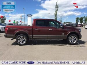2017 Ford F-150 King Ranch SuperCrew EcoBoost MAX 4WD - CAP UNIT