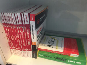 GMAT official guide and Manhattan prep