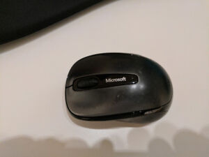 Used Microsoft Mobile 3500 Wireless Mouse - Black