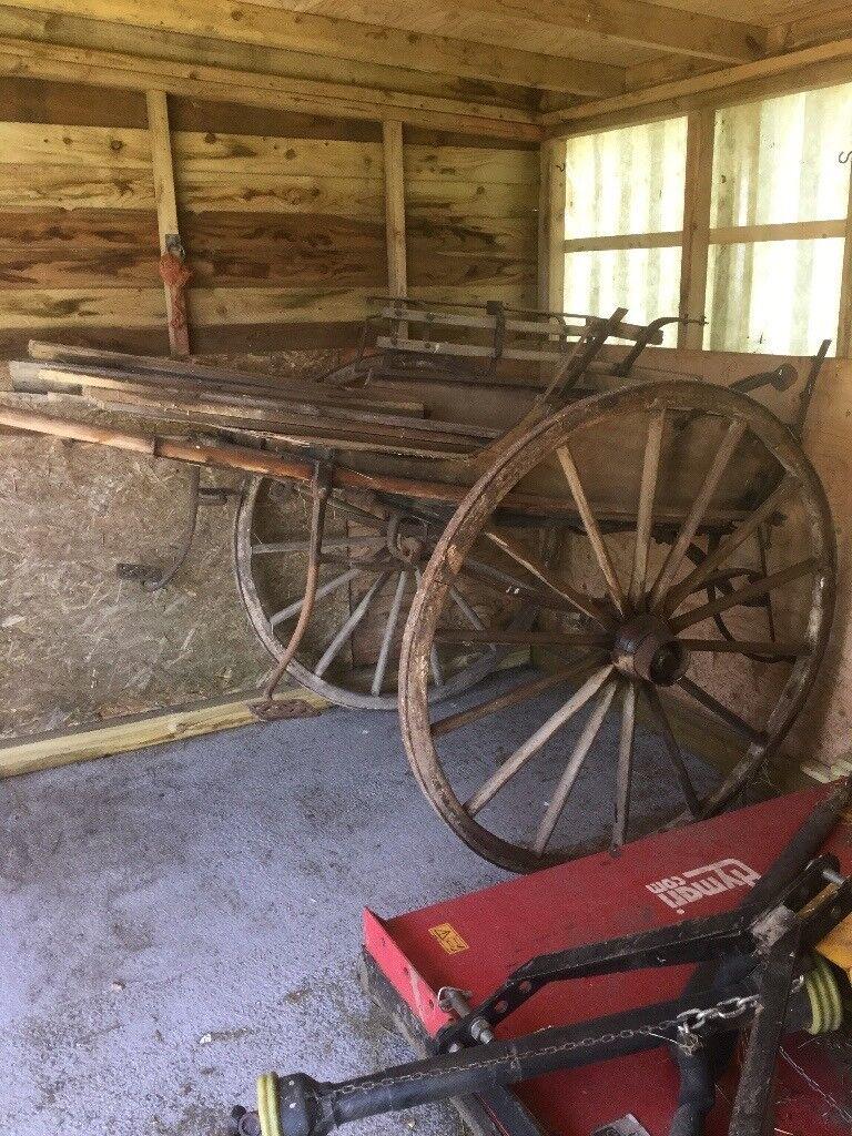 Horse carriage/cart Restoration/market garden/prop/display | in ...
