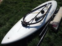 TRAINING BEGINNERS WINDSURFING RIG COMPLETE AND READY TO GO