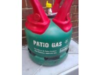5KG PATIO GAS BOTTLE,full,still got the seal on.