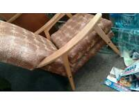 Antique armchair project