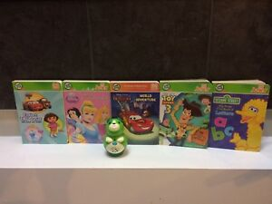 Leapfrog tag junior books and pen