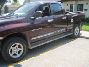 2004 Dodge Ram 1500 (SAFETY/ED) SLT 4X4 Quad Cab Pickup Truck