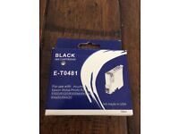 Black Ink Cartridge E-T0481 - Free to collect :)