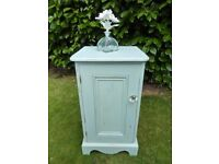 nice shabby chic solid pine cabinet