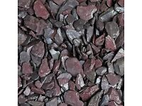 Slate Plum 20mm Garden Chips
