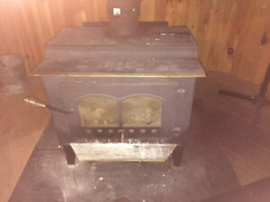 "Wood stove & 7"" flu"