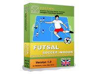 GESTICS FUTSAL - Make graphics sports exercises, draw drills sport trainings