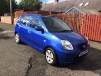 2007 (57) KIA PICANTO, 1 YEAR MOT, WARRANTY, NOT POLO MICRA FIESTA YARIS AYGO