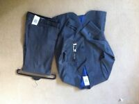 Dark grey suit from marks and spencer new with labels