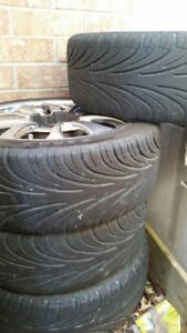 Honda/ Acura tires and rims for trade