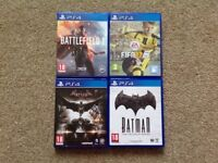 PS4 Games For Sale! Like-New Condition!