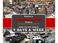 Factory Clearance Centre Closing Sale 50 % off everything