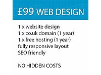 Professional affordable web services