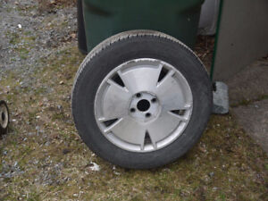 Tires and rims in good shape
