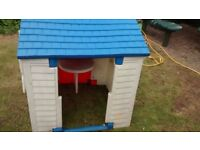 Little Tikes Outdoor Play-House, Well-Used