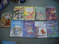 childrens disney story books in very good condition. read once if that!