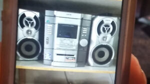 sony 3 disc cd changer stereo system