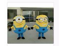Minion mascot outfits