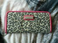 Lipsy london animal print purse