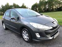 2009 09 Peugeot 308 1.4 XL 5dr, **FULL MOT**, Cheap Insurance
