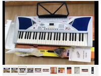 54-Keys-LCD-Teaching-Type-Electronic-Keyboard-MK2054 Boxed