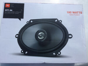 JBL 6x8 auto speakers, 180 watts GT7-86