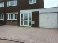 3 BEDROOM SEMI DETACHED HOUSE - STIRCHLEY - NEW DRIVE - NO DHSS / NO DOGS / NO SMOKERS -AVAIL 280817