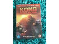 Kong skull island and Godzilla DVD *new and sealed*