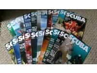 22 SCUBA magazines
