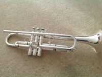 Schilke S22 B flat trumpet