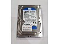 3x western digital hard drives