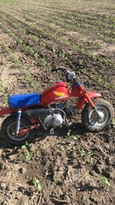 1985 Honda z50 in good condition! Runs great