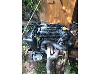 Complete engine AstraH 1.9 cdti,sri turbo 150bhp 2008 85k Very good condition