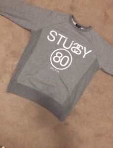 Men's stussy crew neck size small great condition