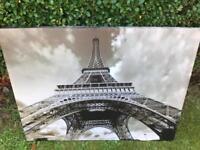 Large Paris Eiffel Tower Print.