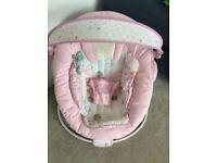 Pink Comfort & Harmony Baby Bouncer