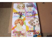 Strobe Edge Manga - Vol.1-4