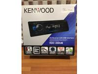 Kenwood KDC-200UB FM/CD/USB/AUX car radio