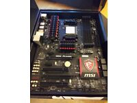 AMD FX-8300 processor and MSI 970 GAMING motherboard
