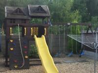 Children's outdoor play centre
