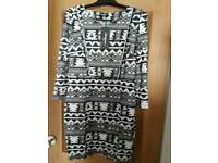 Aztec Dress Size 12-14