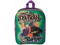 Batman vs Joker Backpack Rucksack Travel Junior Kids Work School Nursery Bag