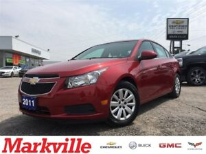 2011 Chevrolet Cruze LT-1 OWNER-ONLY 29, 000KMS-CERTIFIED PRE-OW