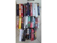 33 Books selection including thrillers, biography and autobiography