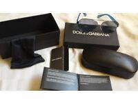 mens genuine Dolce Gabbana sun glasses